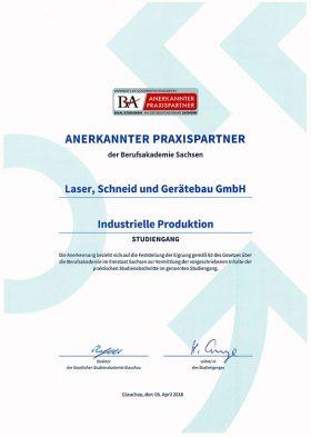 Praxispartner der Berufsakademie Sachsen